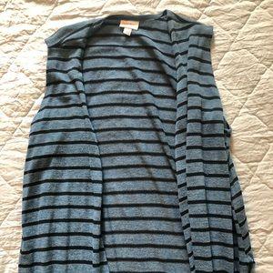 LulaRoe long vest size Large